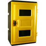 FlameFighter SCBA Cabinets holds 1 SCBA