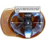 MSA Skullgard Protective Hard Hats Full Brim Blue | Staz-On