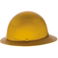 MSA Skullgard Protective Hard Hats Full Brim Yellow | Staz