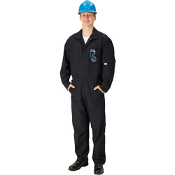 Tall//Size 52 TOPPS SAFETY CO07-5505-Tall//52 CO07-5505 NOMEX Coverall 4.5 oz 5-11 1//2 to 6-3 Navy Blue